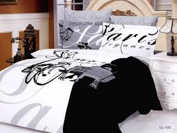 White Bed Set Queen Bedroom Distintive Black And White Bedding Set In Zebra Theme