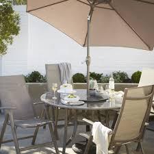 4 Seater Patio Furniture Set - shrewsbury metal 4 seater dining set departments diy at b u0026q