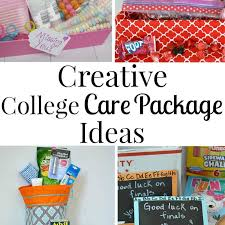college care package creative college care package ideas for all occassions