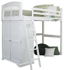 james place twin size loft bed transitional loft beds by
