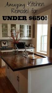 Makeover Of A Pine Kitchen by Best 25 Wood Kitchen Countertops Ideas On Pinterest Wood