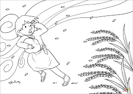 the wicked are like chaff that the wind blows away coloring page