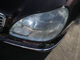 mercedes headlights at night auto body collision repair car paint in fremont hayward union city