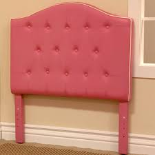 awesome pink twin headboard fabric for kids bed headboards