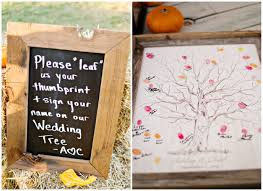 fall wedding guest book inspirational fall guest book wedding