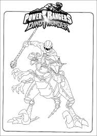 power rangers dino coloring pages super heroes coloring pages