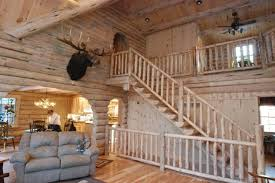 beautiful log home interiors beautiful log cabin for 56 000 home design garden