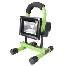 110v led work light portable 10w led work flood cing lights rechargeable battery