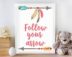 arrow nursery decor etsy