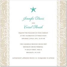 cruise wedding invitations invitation wording