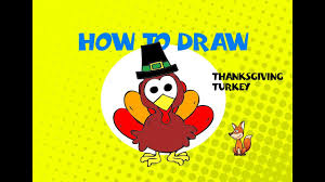 how to draw a thanksgiving turkey step by step guide