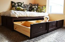 Twin Xl Platform Bed Frame Plans by Perfect Twin Size Bed Frame With Drawers Twin Xl Platform Bed