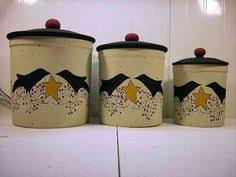 primitive kitchen canisters primitive decor hobby hoes and the black crows primitives