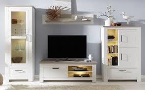 Wohnzimmerschrank Pinie Weiss Wohnwand Pinie Struktur Weiß Lotte