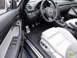 audi convertible interior silver interior 2008 audi rs4 4 2 quattro convertible photo