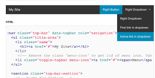 Html Top Navigation Bar Top Bar Duplicate Entry In Dropdown In Chrome Foundation Forum