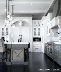 gray and white kitchen design ideas backsplash black grey walls