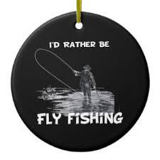 rather be fly fishing ornaments keepsake ornaments zazzle