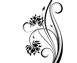 14 simple floral designs images easy to draw flower tattoo