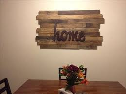 wood wall decorations best diy wood pallet wall with decor ideas