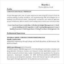 Sample Entry Level Project Manager by How To Write An Abstract Lab Report Stock Description Resume Ubu