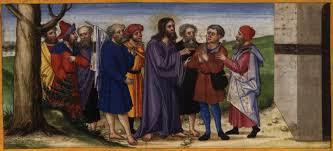 Jesus Healed The Blind Man File Ottheinrich Folio100v Lc18g Jpg Wikimedia Commons