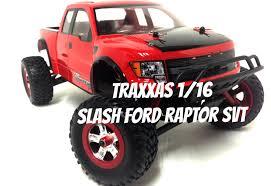 Ford Raptor Mini Truck - traxxas 1 16 slash ford raptor svt youtube