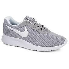 Nike Comfort Footbed Sneakers Nike Tanjun Women U0027s Sneaker Grey Off Broadway Shoes