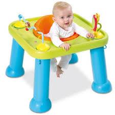 table d activité bébé avec siege table siège d activités éveil youpi baby cotoons smoby avis