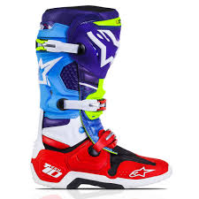 alpinestar motocross boots alpinestars tech 10 motocross boot limited edition venom mxweiss