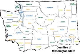 County Map Of Oregon by County Map Washington Aco
