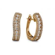 s gold earrings buy solitaire earrings in dubai liali jewellery