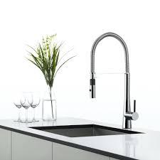 kitchen faucets single hole kitchen faucet chrome front sink