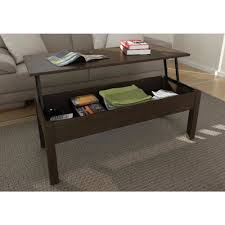 coffee table lift top coffee table espresso black with storage