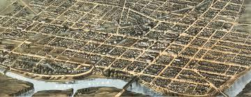 dayton map ruger s map of dayton ohio 1870