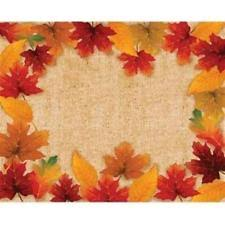 jccentral fancy fall autumn disposable dinnerware thanksgiving