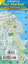 Acadia National Park Map Bar Harbor Acadia National Park Quickmap Jimapco