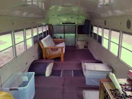 keith s schoolbus conversion blog schoolbus rv conversion interior rearward view