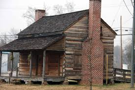 built in the early 1840s by andrew mcselland couey this log house