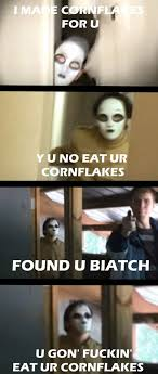 Corn Flakes Meme - 470 best slenderverse images on pinterest creepy pasta