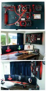 gaming room pc setups video game console storage gaming setup