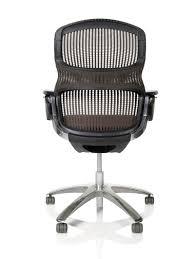 chaise de bureau knoll chaise de bureau contemporaine à roulettes avec accoudoirs