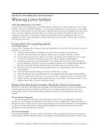 collection of solutions winning cover letter samples for your