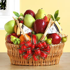 fruit gift baskets organic fruit cheese gift basket hayneedle