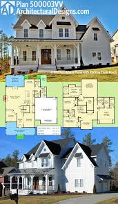 Contemporary Farmhouse Floor Plans Plan 52269wm Expanded Farmhouse Plan With 3 Or 4 Beds Modern