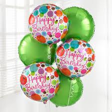 balloon boquet delivery happy birthday balloon bouquet from ferguson flowers