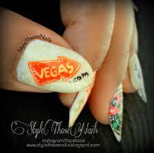 las vegas inspired cards nail art design las vegas pinterest las