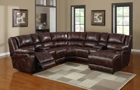 Brown Leather Sofa With Chaise Sofa Sofa Stirring Sectional Withhaise And Recliner Picture