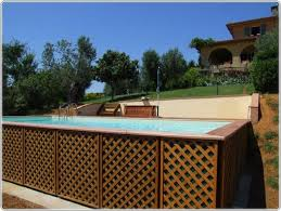 Above Ground Pool Ideas Backyard 52 Best Above Ground Pools Images On Pinterest Books Cottage