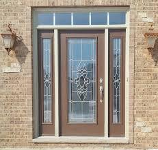 Steel Clad Exterior Doors Provia Legacy Steel Entry Door Exterior Color Tudor Brown